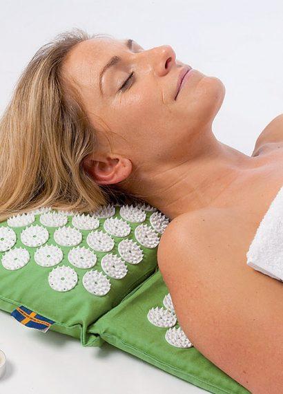 Soulager les maux de dos avec l'acupression image